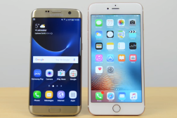 Galaxy S7 Edge Vs iPhone 6s Plus Video