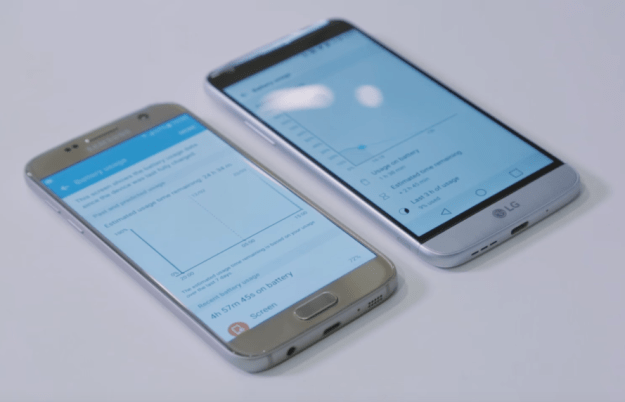 Samsung Galaxy S7 Vs LG G5 Video