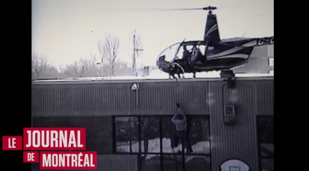 Helicopter Jailbreak Canada Video