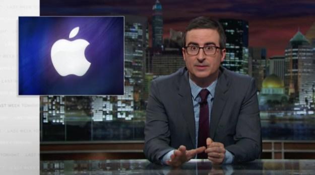 apple vs fbi iphone case john oliver hilariously. Black Bedroom Furniture Sets. Home Design Ideas