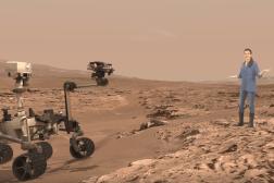 NASA Microsoft HoloLens Mars Exhibit