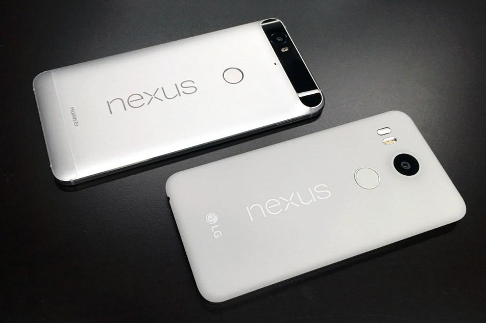 Nexus 5X Nexus 6P Price
