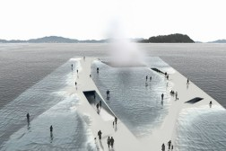 Water Pavilion Concept Walking