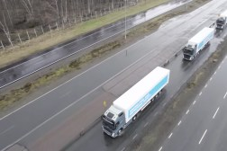 Self-driving Trucks Platooning
