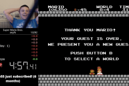 Super Mario Bros. World Record