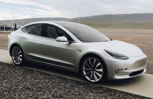 Tesla Model 3 Ugly Design