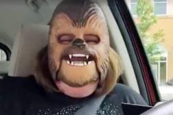 Chewbacca Mom Mask