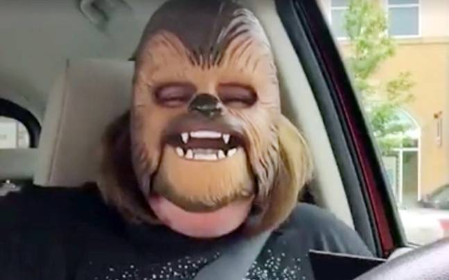 Chewbacca Mom Mask