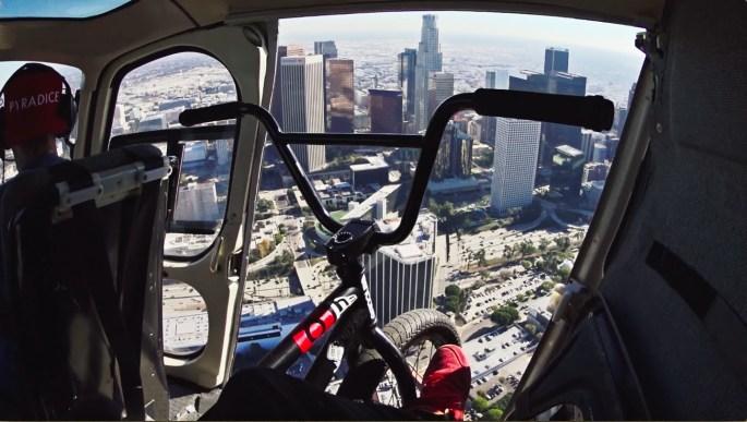Nigel Sylvester Go Los Angeles Bike Tour