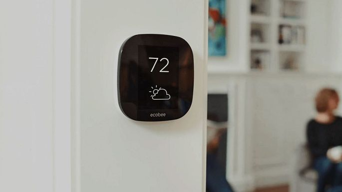 Ecobee 3 smart WiFi thermostat with HomeKit