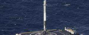 Watch: SpaceX lands Falcon 9 rocket on a drone ship