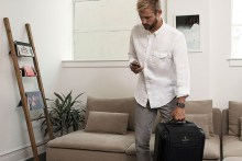 I traveled with a smart carry-on and I'm never using a 'dumb' bag again