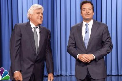 Jay Leno Tonight Show Trump Clinton