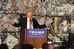 Trump Garbage Wall Speech