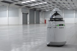 Robot Security Guard Attack