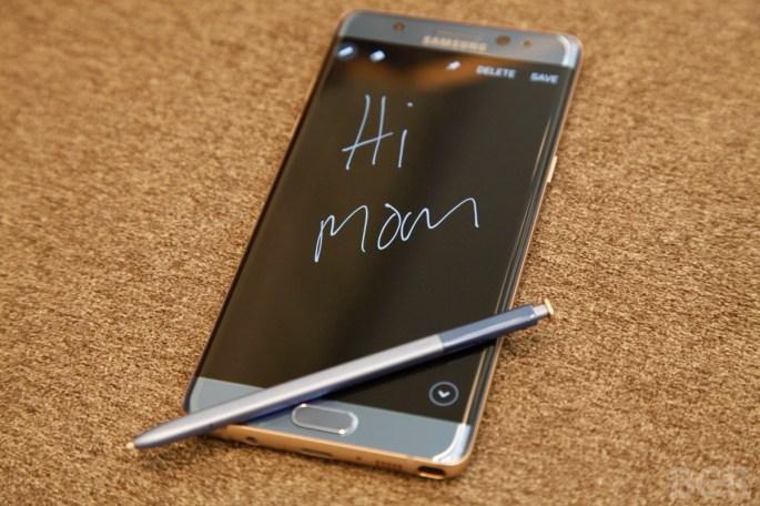Galaxy Note 7 Vs iPhone 6s Plus