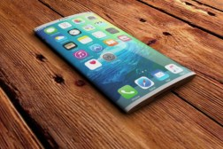 Curved iPhone Liquidmetal Touch Surfaces
