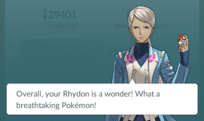Pokemon Go Appraisal Feature