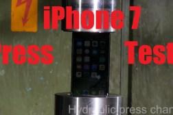iPhone 7 Hydraulic Press