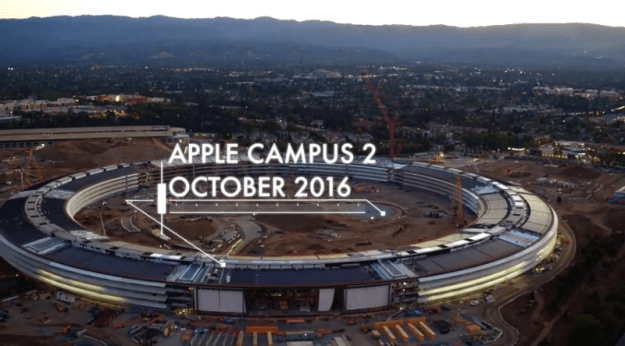 Apple's new HQ is looking more like a spaceship every day