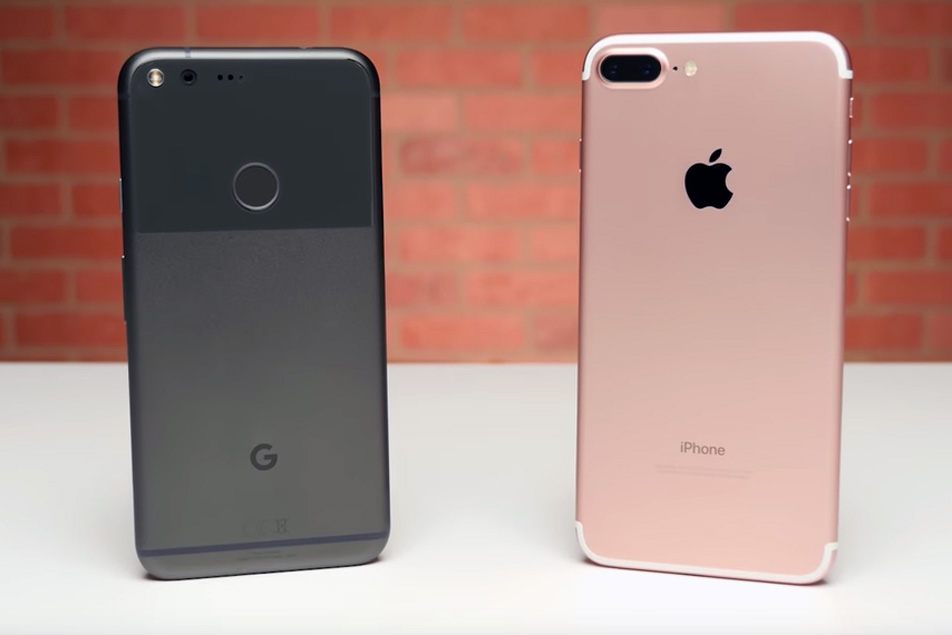 iPhone 7 vs. Pixel Full Specs