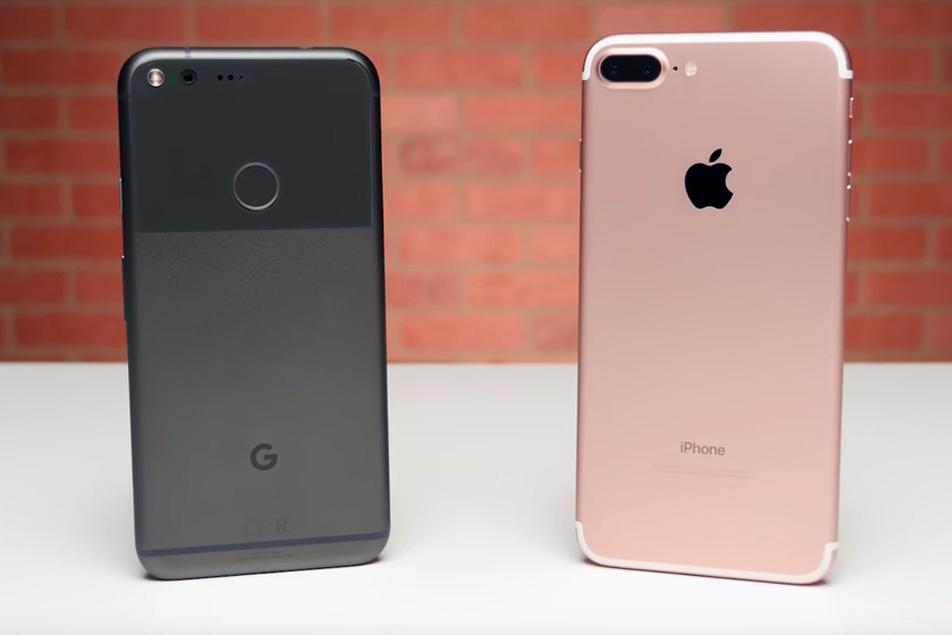 iPhone 7 vs. Pixel Full Specs