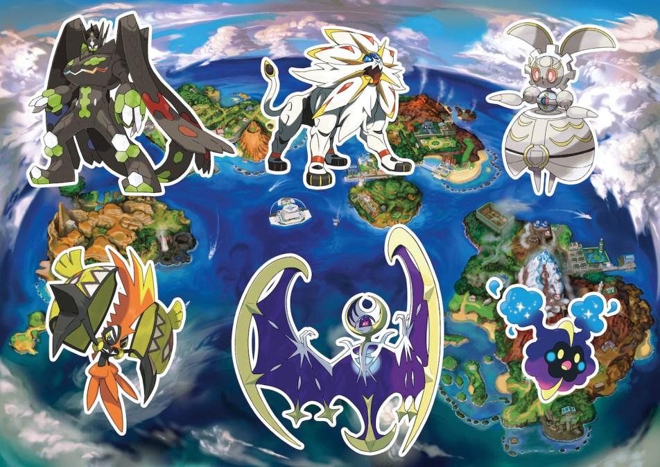 Pokemon Sun And Moon How To Catch Legendary Pokemon Bgr