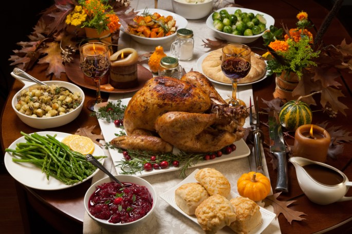 Thanksgiving Dinner 2016 Recipes
