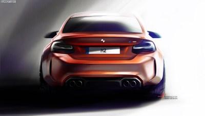 BMW M2 Competition 2018: 410 PS und noch schärferes Design