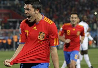 David Villa missed a hat-trick against Honduras with misplaced penalty.