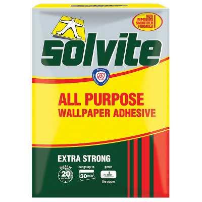 Solvite All Purpose Wallpaper Adhesive - Box | Decorating, Adhesive