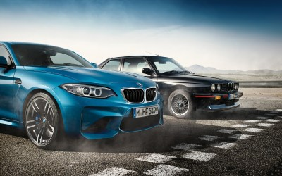 Download the first BMW M2 wallpapers