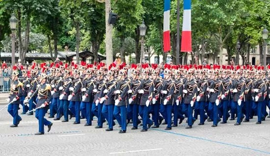 Bastille Day   Definition  History    Facts   Britannica com Bastille Day  military parade