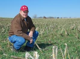 Kenny Reichert, Missouri Farmer, winner of Olin Sims Conservation Leadership Award from NACD