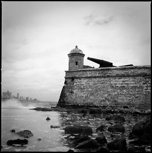 El Morro Fort, Havana, Cuba | Black & White Film Photography