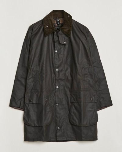 Barbour Lifestyle Classic Northumbria Jacket Olive hos ...
