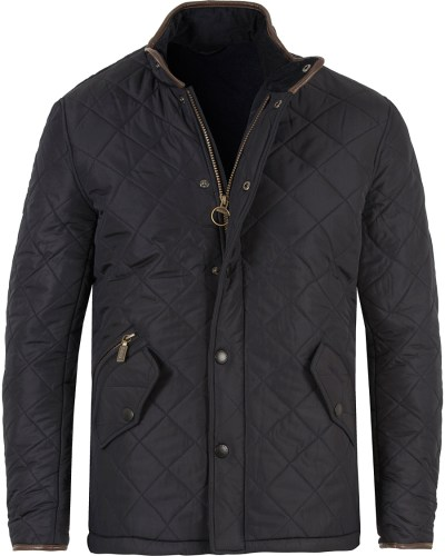 Barbour Lifestyle Powell Quiltade Jacket Navy hos ...