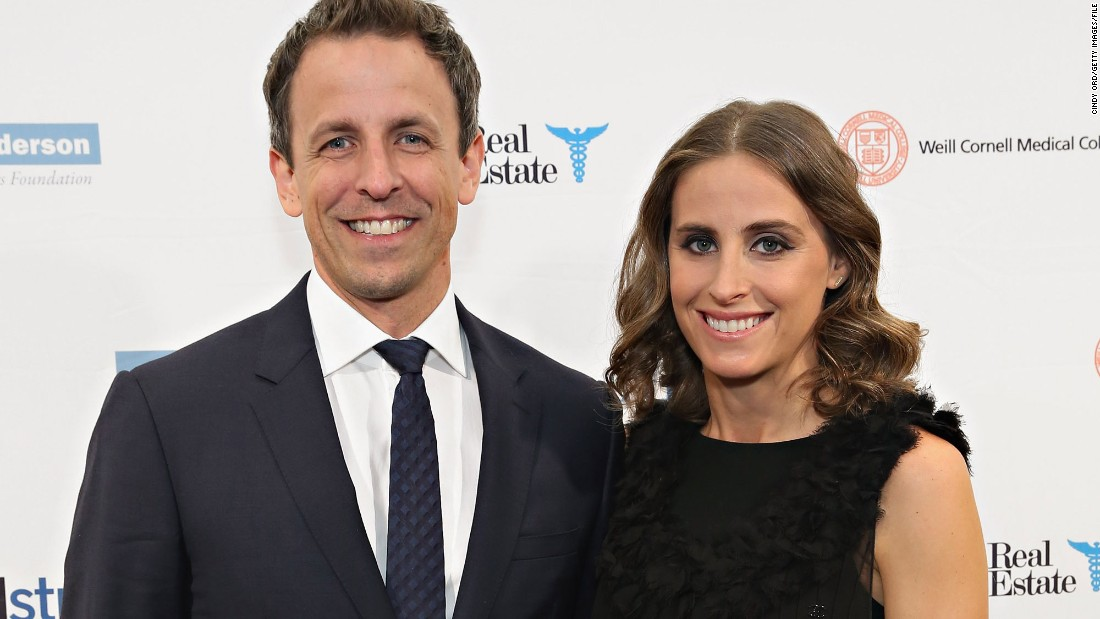 Seth Meyers' Son Born In Apartment Lobby