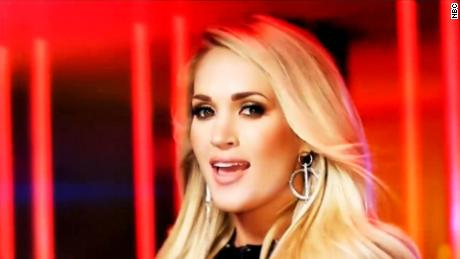 Mixed reviews for Carrie Underwood s NFL song   CNN Video carrie underwood new nfl intro song debuts mxp vpx 00000102