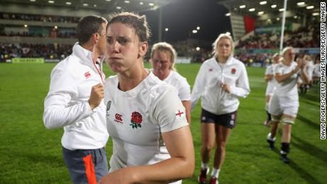 Sarah Hunter captained England during its run to the World Cup final in 2017.