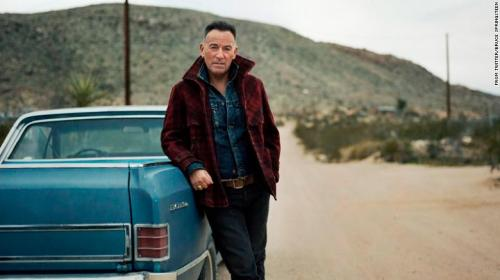 """Springsteen goes a little bit country on new album """"Western Stars."""""""