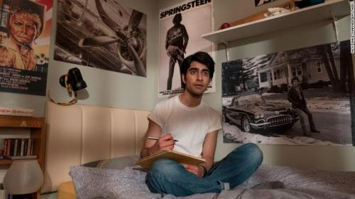 "Viveik Kalra as Javed, a Pakistani teen in ""Blinded by the Light,"" which hits theaters this month."