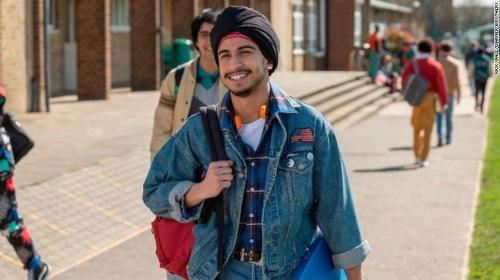 In the movie a Sikh classmate introduces Javed to Bruce Springsteen.