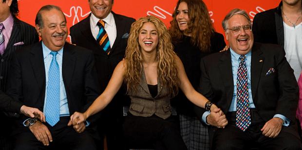 Carlos and Shakira