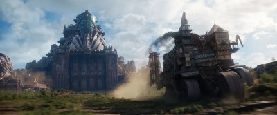 Mortal Engines: Robert Sheehan & Leila George Play Would You Rather   Collider