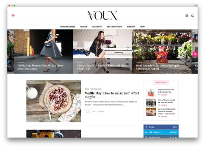 43 Best Fashion Blog & Magazine WordPress Themes 2018 ...