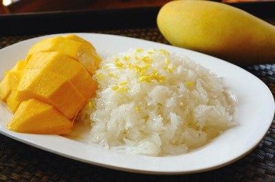Thai Sweet Sticky Rice With Mango (Khao Neeo Mamuang)   KitchMe