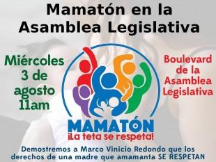 Mamatón protestará contra diputado.