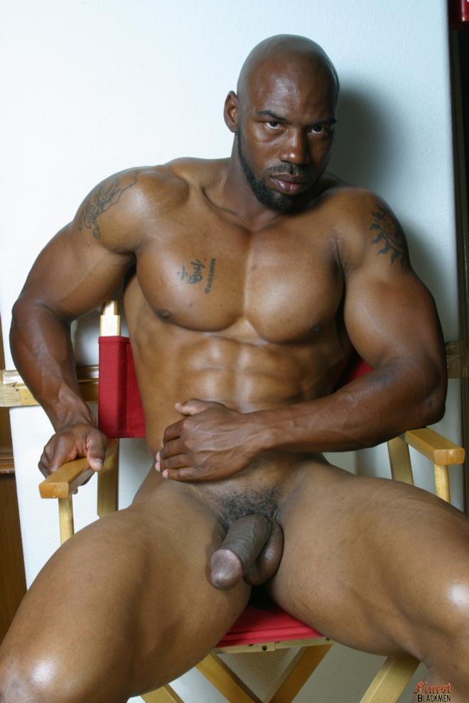 big black gay muscle men