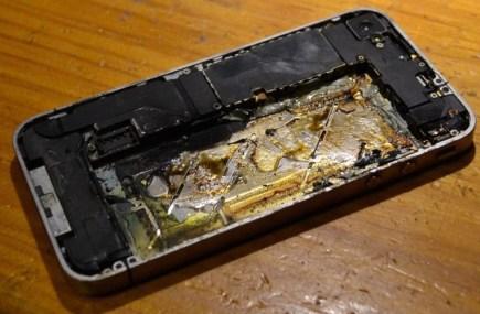 burntiPhone
